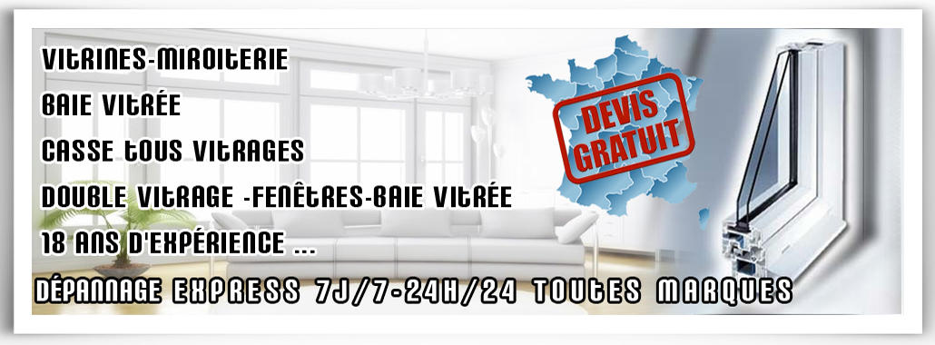 Vitrier Bussy-saint-georges | Votre sont disponibles 24h/24 Bussy-saint-georges 01.64.949.951